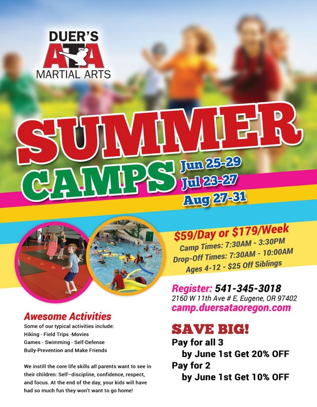 Best Summer Camp Eugene Oregon