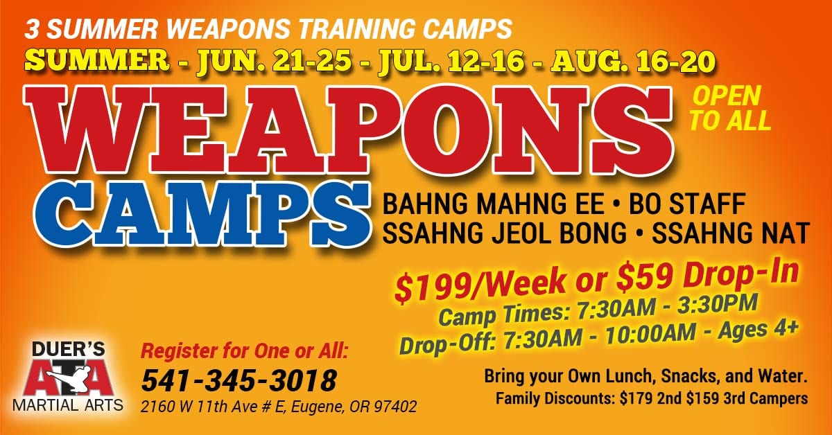Summer Weapons Camp